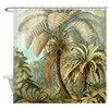 Vintage Tropical Palm Shower Curtain