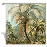 Palm tree Shower Curtains