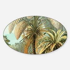 Vintage Tropical Palm Decal