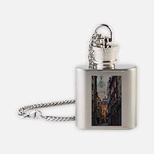 Unique Architecture Flask Necklace