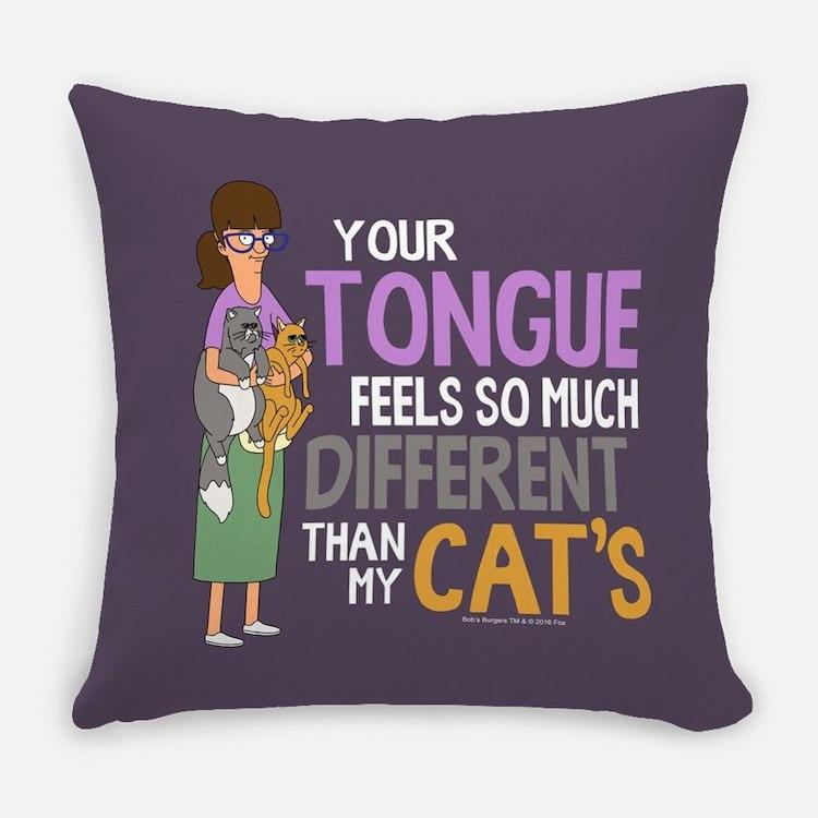Bob's Burgers Gayle Cats Everyday Pillow