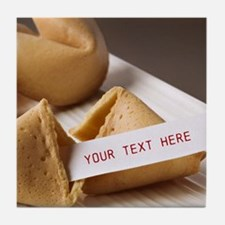 Personalized - Fortune Cookie* Tile Coaster