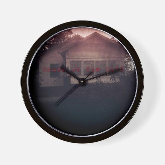 Cute Haunted house Wall Clock