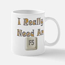 Please refresh me Mug