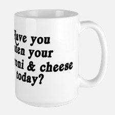 macaroni & cheese today Mugs