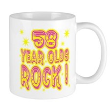 58 Year Olds Rock ! Mug