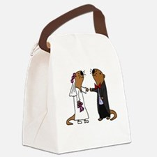 Funny The bride Canvas Lunch Bag