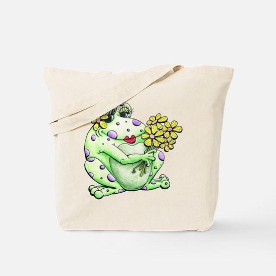 Funny Frog Tote Bag