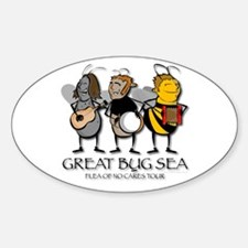 GREAT BUG SEA TOUR Oval Decal