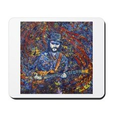 Painting of Les Claypool Mousepad
