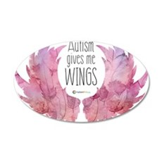 Autism Wings (WC) Wall Decal