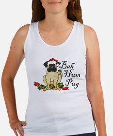 Bah Hum Bug Pug Women's Tank Top