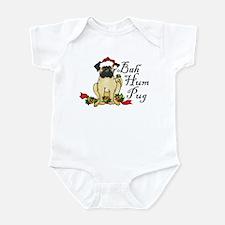Bah Hum Bug Pug Infant Bodysuit