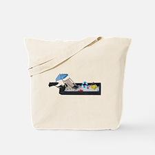 Beach Chair Umbrella Laptop Sand Tote Bag