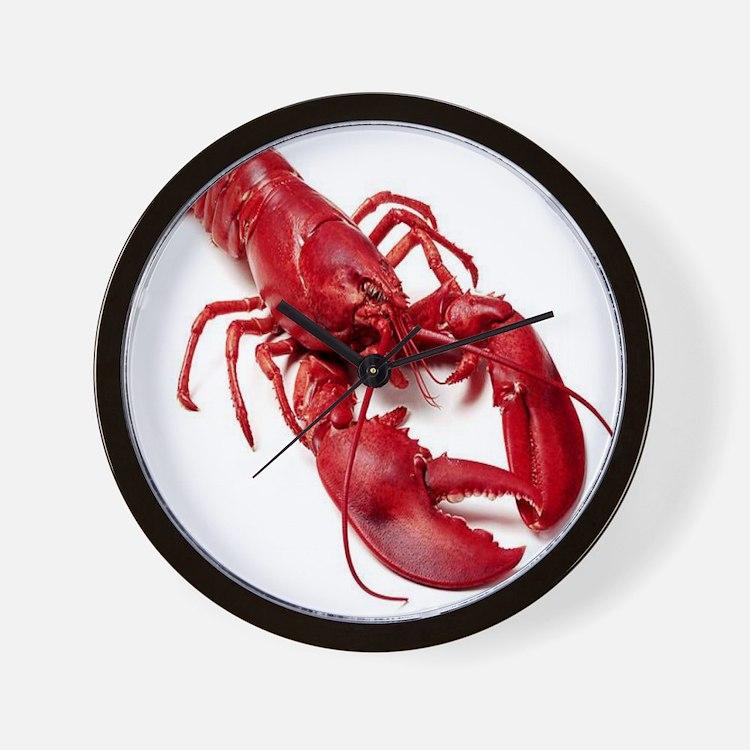 Satan Doomsday Clock 7 Black 8 99: Lobster Wall Clocks