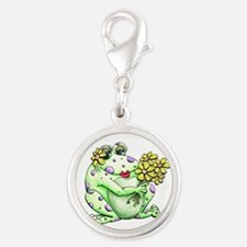 Flower Frog Charms