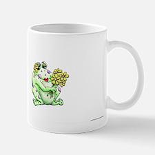 Flower Frog Mugs