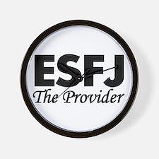 ESFJ | The Provider Wall Clock
