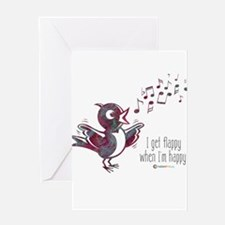 Flappy Happy Greeting Card