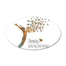 Soul Wings (M) Wall Decal