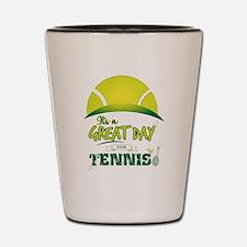 Cute Tennis ball Shot Glass