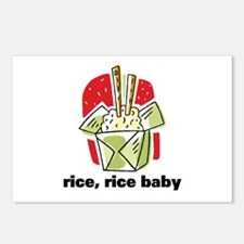 Rice Rice Baby Postcards (Package of 8)
