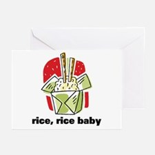 Rice Rice Baby Greeting Cards (Pk of 20)