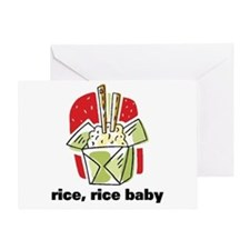 Rice Rice Baby Greeting Card