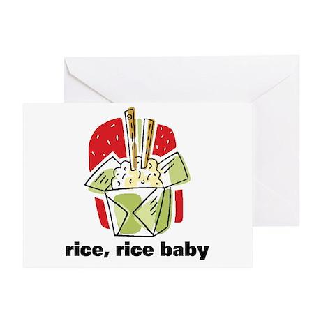 Rice Rice Baby Greeting Card