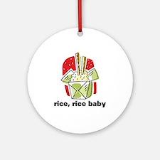 Rice Rice Baby Ornament (Round)