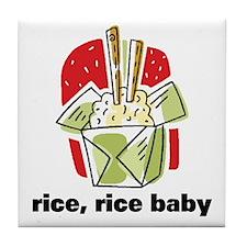 Rice Rice Baby Tile Coaster
