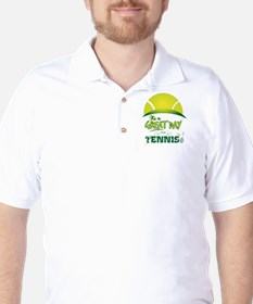 It's a Great Day For Tennis Golf Shirt