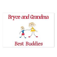 Bryce & Grandma - Buddies Postcards (Package of 8)