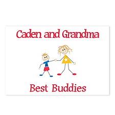 Caden & Grandma - Buddies Postcards (Package of 8)