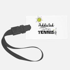 Addicted To Tennis Luggage Tag