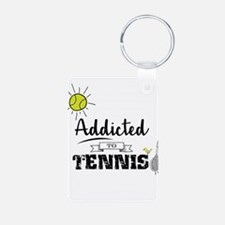 Addicted To Tennis Keychains