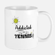 Addicted To Tennis Mugs