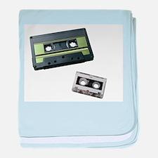 cassette tape baby blanket