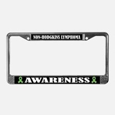 Non-Hodgkins Lymphoma License Plate Frame