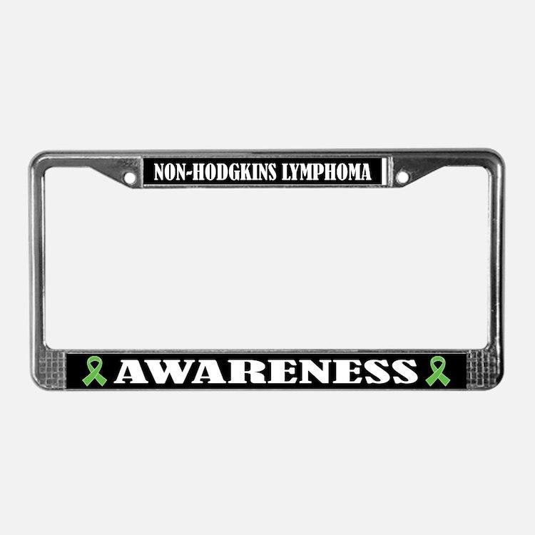 Non-Hodgkins Lymphoma License Plate Frame
