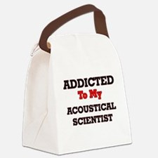 Addicted to my Acoustical Scienti Canvas Lunch Bag