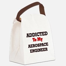 Addicted to my Aerospace Engineer Canvas Lunch Bag