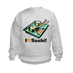 I Love Sushi! Sweatshirt