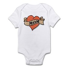 mom tattoo Infant Bodysuit