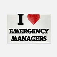 I love Emergency Managers Magnets