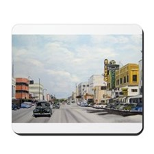 Mousepad with 1950's Chester Avenue Scene