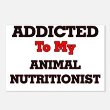 Addicted to my Animal Nut Postcards (Package of 8)