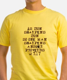 Proverbs 27:17 T-Shirt