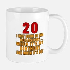 20 birthday Designs Mug