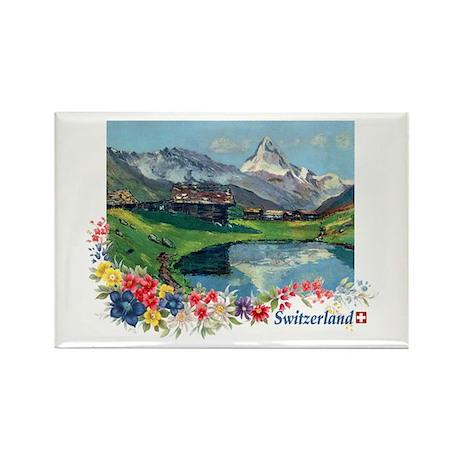 Swiss Beauty Rectangle Magnet